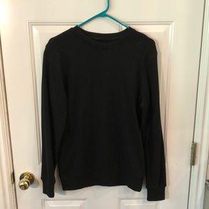 Men's black sweater